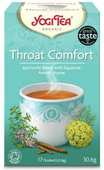 Na gardło  - YOGI TEA - HERBATA - THROAT COMFORT
