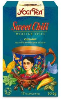 Słodka chili - YOGI TEA  - AJURWEDYJSKA HERBATA -SWEET CHILI MEXICAN SPICE